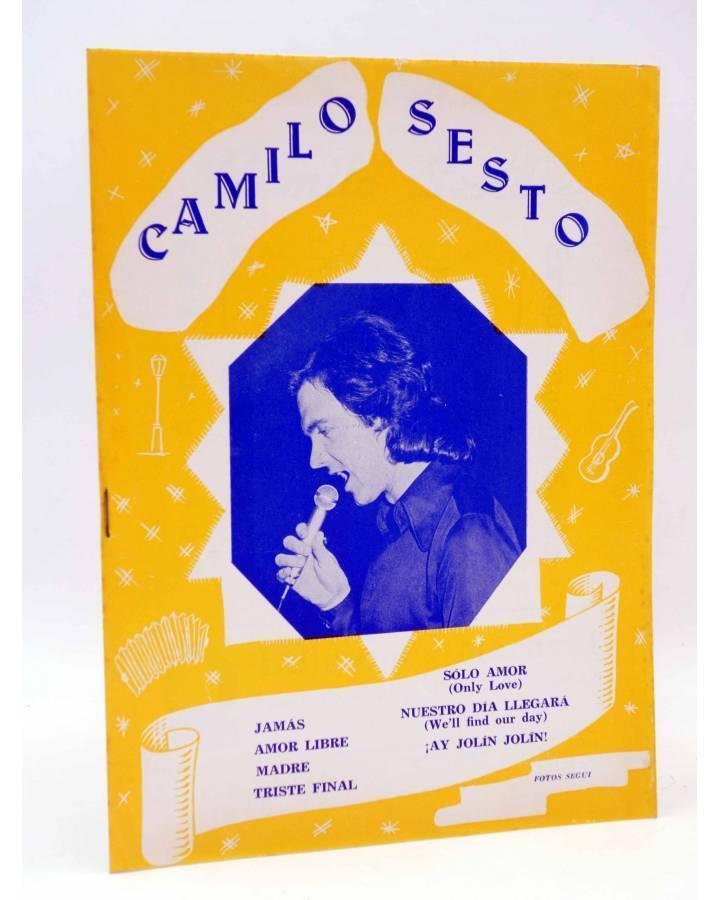 Cubierta de CANCIONERO. CAMILO SESTO (Camilo Sesto) Marazul 1976