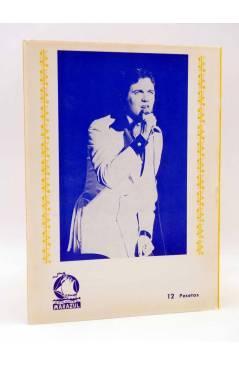 Contracubierta de CANCIONERO. CAMILO SESTO (Camilo Sesto) Marazul 1976