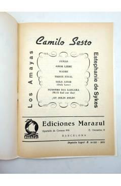Muestra 1 de CANCIONERO. CAMILO SESTO (Camilo Sesto) Marazul 1976