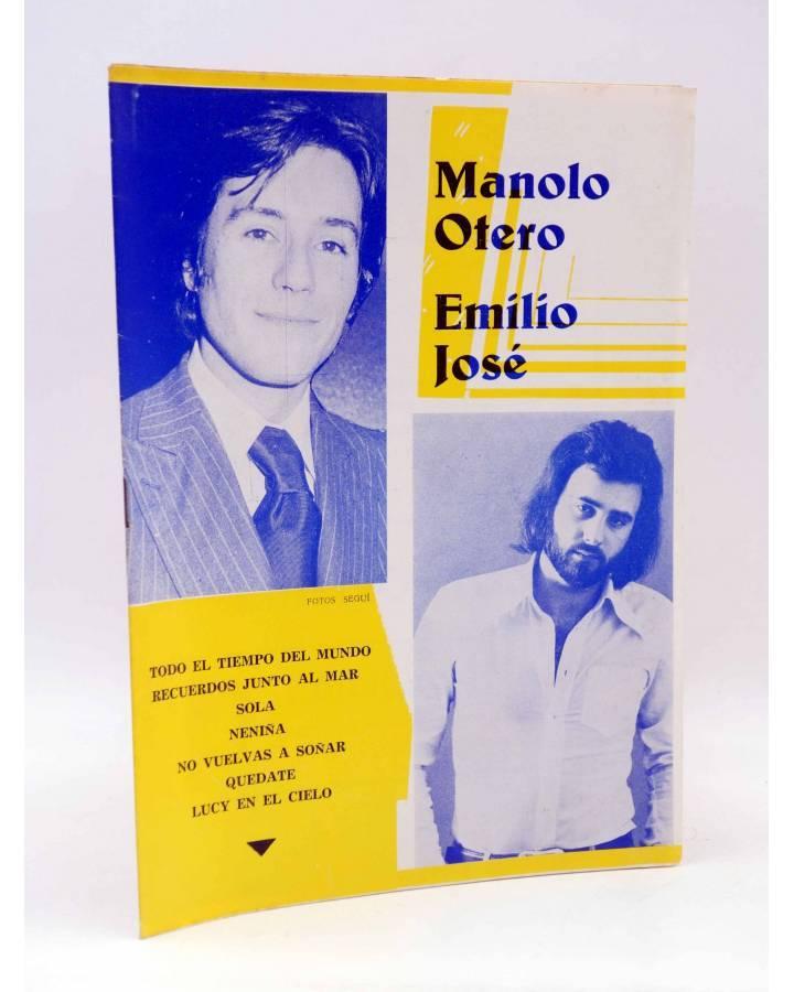 Cubierta de CANCIONERO. MANOLO OTERO / EMILIO JOSÉ (Manolo Otero / Emilio José) Marazul 1975