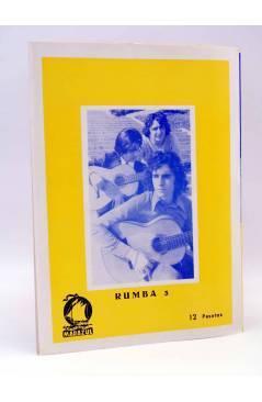 Contracubierta de CANCIONERO. MANOLO OTERO / EMILIO JOSÉ (Manolo Otero / Emilio José) Marazul 1975