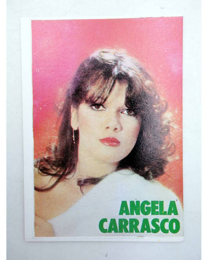 Cubierta de CROMO SUPER MUSICAL 151. ÁNGELA CARRASCO (Ángela Carrasco) Eyder Circa 1980