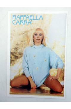 Cubierta de CROMO SUPER MUSICAL 152. RAFAELA CARRÁ (Rafaela Carrá) Eyder Circa 1980