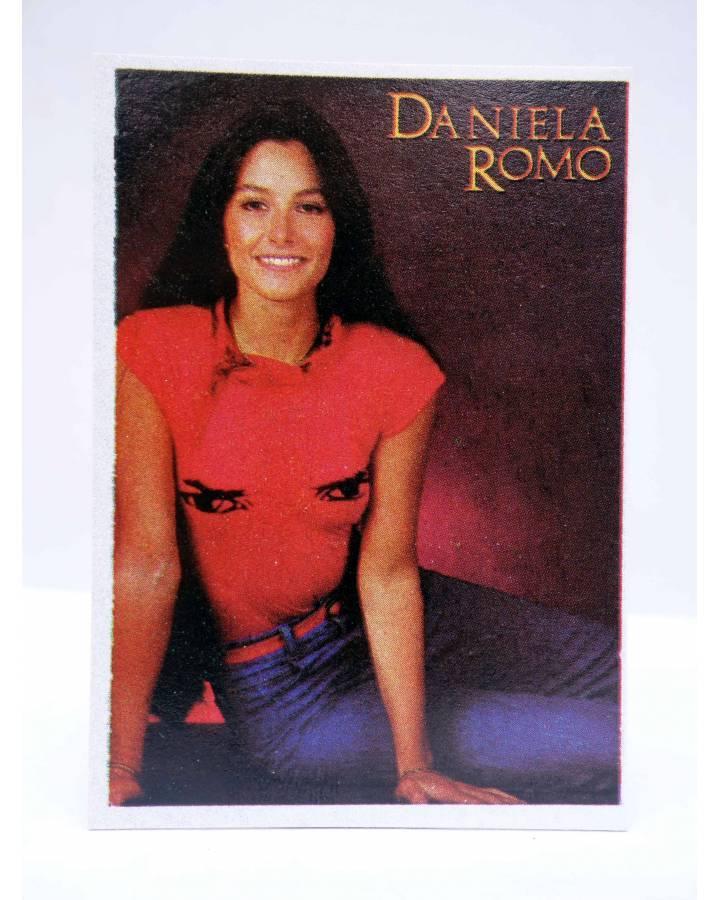 Cubierta de CROMO SUPER MUSICAL 155. DANIELA ROMO (Daniela Romo) Eyder Circa 1980