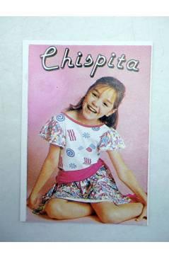 Cubierta de CROMO SUPER MUSICAL 165. CHISPITA (Chispita) Eyder Circa 1980
