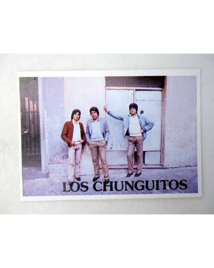 Cubierta de CROMO SUPER MUSICAL 169. LOS CHUNGUITOS (Los Chunguitos) Eyder Circa 1980