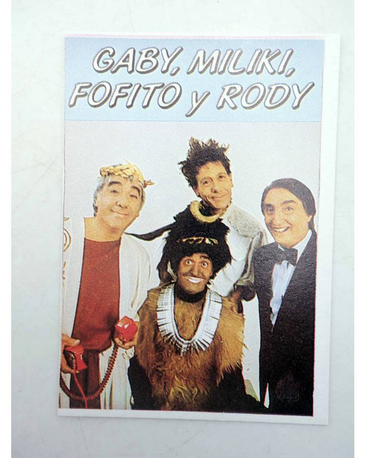 Cubierta de CROMO SUPER MUSICAL 171. GABY MILIKI FOFITO Y RODY (Gaby Miliki Fofito Y Rody) Eyder Circa 1980