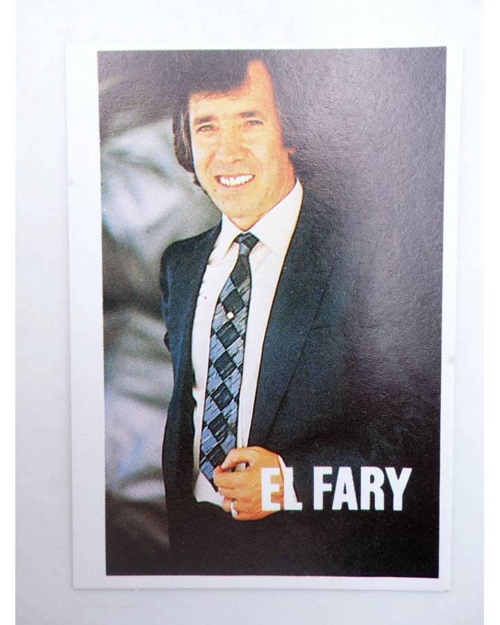 Cubierta de CROMO SUPER MUSICAL 172. EL FARY (El Fary) Eyder Circa 1980
