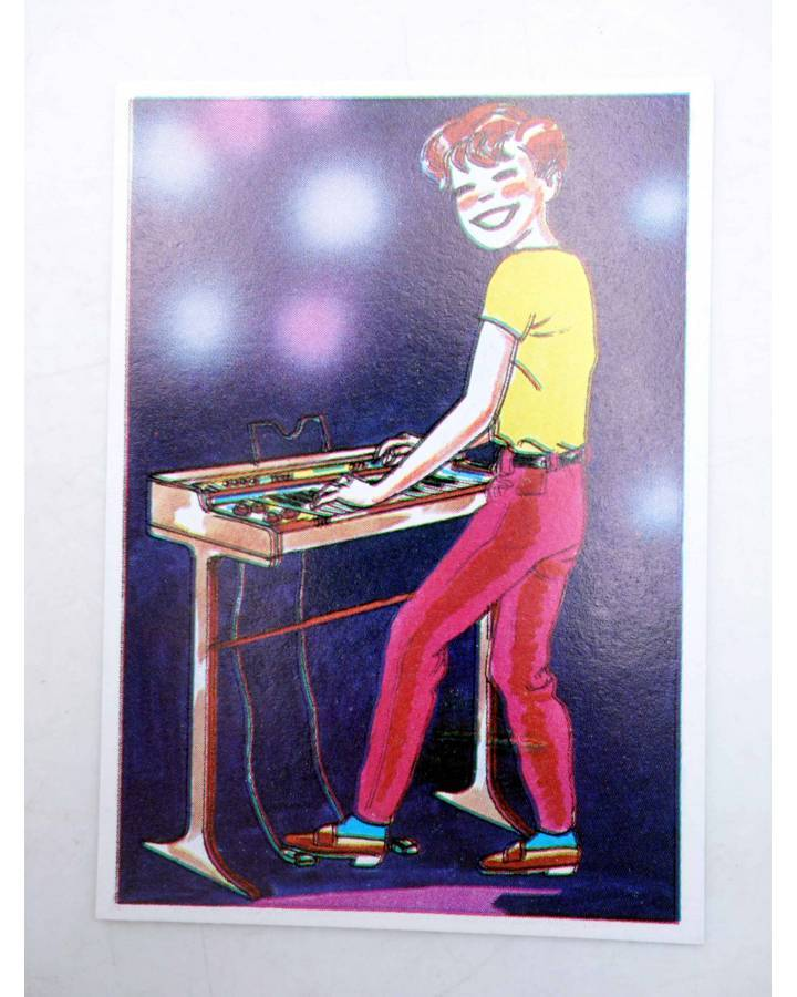 Cubierta de CROMO SUPER MUSICAL 187. ORGANO. Eyder Circa 1980