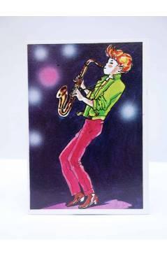 Cubierta de CROMO SUPER MUSICAL 190. SAXO SAXOFÓN. Eyder Circa 1980