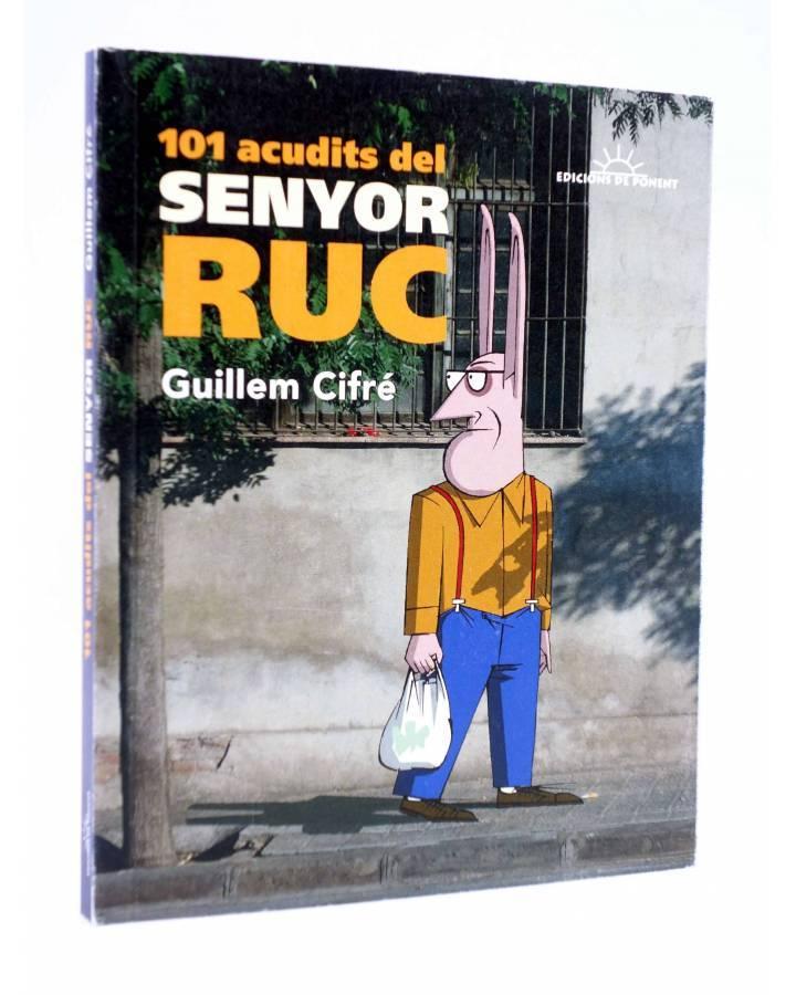 Cubierta de PAPERS GRISOS. 101 ACUDITS DEL SENYOR RUC (CATALA) (Guillem Cifré) De Ponent 2016