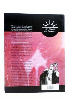 Contracubierta de PAPERS GRISOS. SUPERHOMBRES IBERICOS (Pedro Porcel) De Ponent 2014