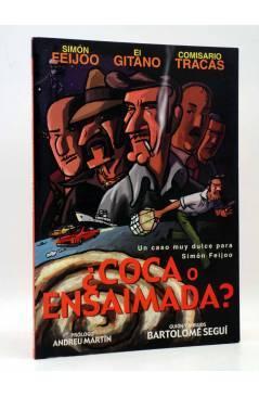 Cubierta de SOLYSOMBRA 19. ¿COCA O ENSAIMADA? UN CASO MUY DULCE PARA SIMON FEIJOO (Bartolomé Seguí) De Ponent 2003