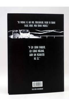 Contracubierta de SOLYSOMBRA 68. THE CARTOONIST (Paco Hernández / Daniel Cardiel) De Ponent 2014