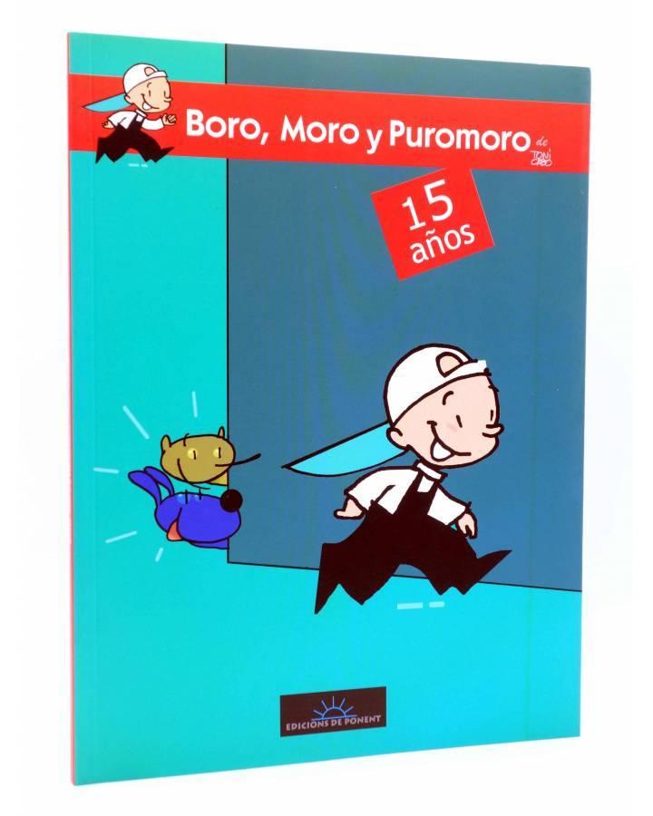 Cubierta de CREPÚSCULO 48. BORO MORO Y PUROMORO (Álvaro Pons / Toni Cabo) De Ponent 2014