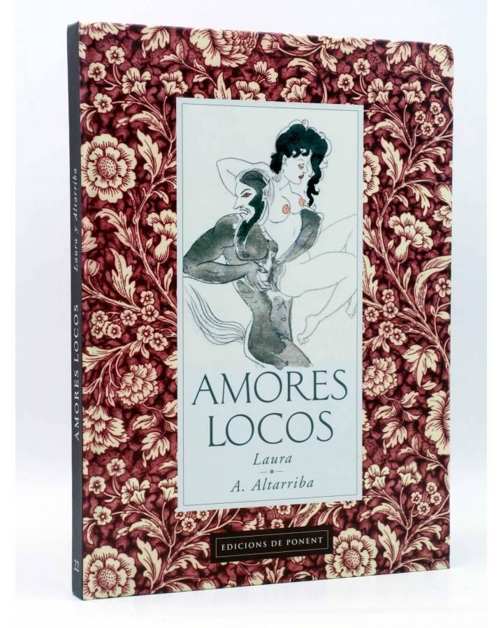 Cubierta de MERCAT 22. AMORES LOCOS (Laura / Altarriba) De Ponent 2005
