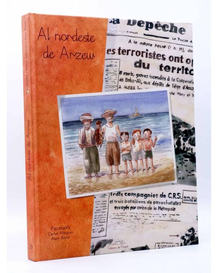 Cubierta de MERCAT 30. AL NORDESTE DE ARZEW (Alain Bonet / Paco Sales) De Ponent 2011