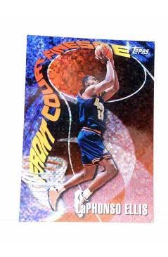 Cubierta de TRADING CARD BASKETBALL NBA SEASON'S BEST 15. LaPHONSO ELLIS. Topps 1997