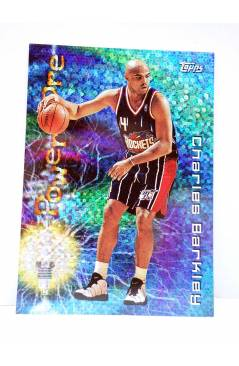 Cubierta de TRADING CARD BASKETBALL NBA SEASON'S BEST 17. CHARLES BARKLEY. Topps 1997