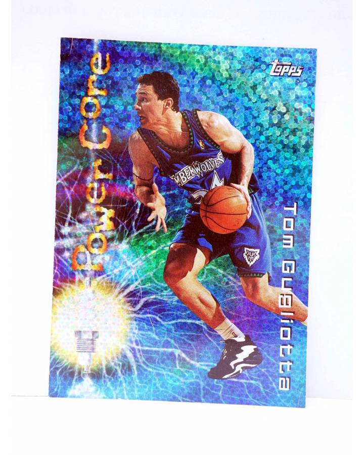 Cubierta de TRADING CARD BASKETBALL NBA SEASON'S BEST 20. TOM GUGLIOTTA. Topps 1997