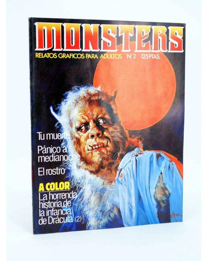 Cubierta de MONSTERS. RELATOS GRÁFICOS PARA ADULTOS 2. FRANKENSTEIN / WALLESTEIN (Vvaa) Zinco 1982