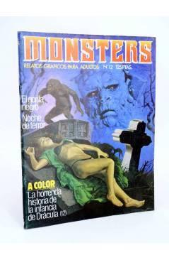 Cubierta de MONSTERS. RELATOS GRÁFICOS PARA ADULTOS 12. FRANKENSTEIN / WALLESTEIN (Vvaa) Zinco 1983