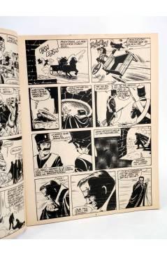Contracubierta de MONSTERS. RELATOS GRÁFICOS PARA ADULTOS 12. FRANKENSTEIN / WALLESTEIN (Vvaa) Zinco 1983