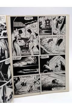 Contracubierta de MONSTERS. RELATOS GRÁFICOS PARA ADULTOS 15. FRANKENSTEIN / WALLESTEIN (Vvaa) Zinco 1983