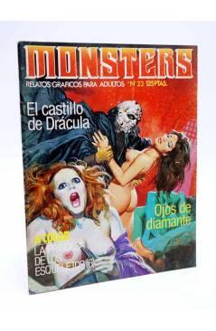 Cubierta de MONSTERS. RELATOS GRÁFICOS PARA ADULTOS 23. ZORA LA VAMPIRA / WALLESTEIN (Vvaa) Zinco 1983