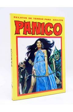 Cubierta de PANICO. RELATOS DE TERROR PARA ADULTOS. RETAPADO NºS 51 52 53 54 55 (Vvaa) Vilmar 1982
