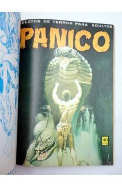 Muestra 4 de PANICO. RELATOS DE TERROR PARA ADULTOS. RETAPADO NºS 51 52 53 54 55 (Vvaa) Vilmar 1982