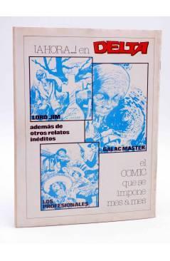 Contracubierta de DOSSIER NEGRO 153. NEKRADAMUS DISTRITO 56 (Vvaa) Giesa 1982