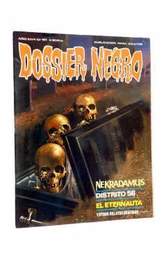 Cubierta de DOSSIER NEGRO 161. NEKRADAMUS DISTRITO 56 EL ETERNAUTA (Vvaa) Giesa 1982