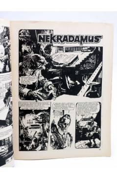 Contracubierta de DOSSIER NEGRO 161. NEKRADAMUS DISTRITO 56 EL ETERNAUTA (Vvaa) Giesa 1982