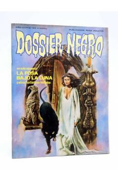 Cubierta de DOSSIER NEGRO 163. LA FOSA BAJO LA LUNA (Vvaa) Giesa 1983