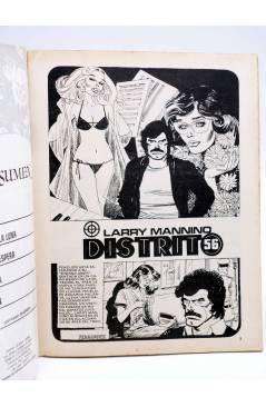 Contracubierta de DOSSIER NEGRO 163. LA FOSA BAJO LA LUNA (Vvaa) Giesa 1983
