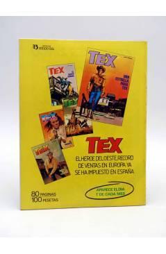 Contracubierta de DOSSIER NEGRO 171. SE INCORPORA DC COMICS (Vvaa) Giesa 1983