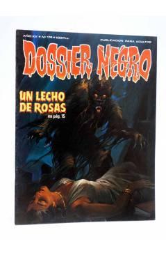 Cubierta de DOSSIER NEGRO 174. UN LECHO DE ROSAS (Vvaa) Giesa 1984