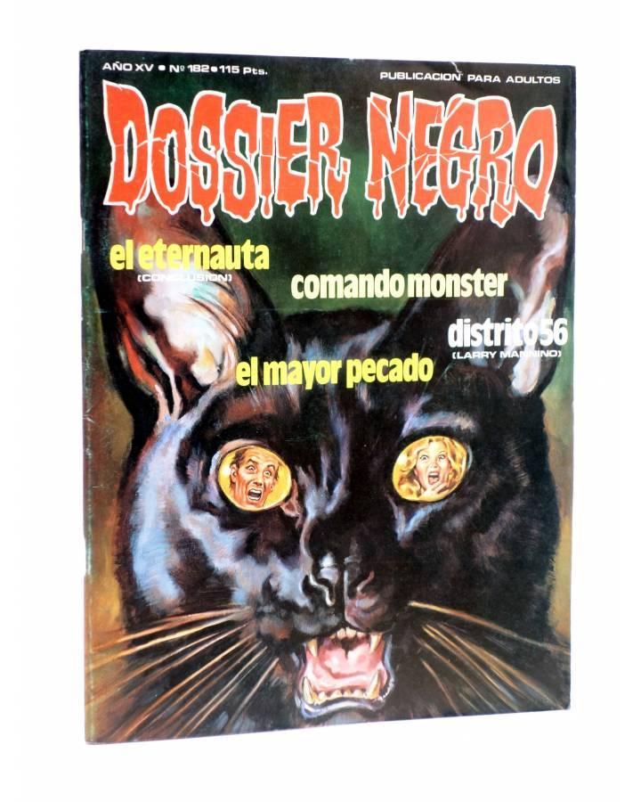 Cubierta de DOSSIER NEGRO 182. EL ETERNAUTA COMANDO MONSTER… (Vvaa) Giesa 1984