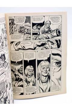 Contracubierta de DOSSIER NEGRO 182. EL ETERNAUTA COMANDO MONSTER… (Vvaa) Giesa 1984