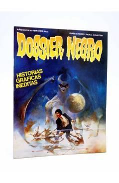 Cubierta de DOSSIER NEGRO 194. HISTORIAS GRÁFICAS INÉDITAS (Vvaa) Giesa 1986