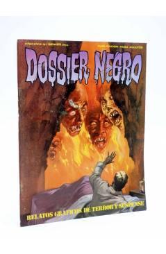 Cubierta de DOSSIER NEGRO 195. RELATOS GRÁFICOS DE TERROR Y SUSPENSE (Vvaa) Giesa 1986