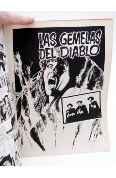 Contracubierta de DOSSIER NEGRO 198. EL SUDARIO DE LA MOMIA (Vvaa) Giesa 1986