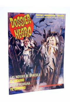 Cubierta de DOSSIER NEGRO 199. LAS NOVIAS DE DRÁCULA (Vvaa) Giesa 1986