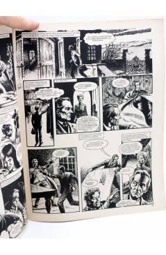 Contracubierta de DOSSIER NEGRO 199. LAS NOVIAS DE DRÁCULA (Vvaa) Giesa 1986