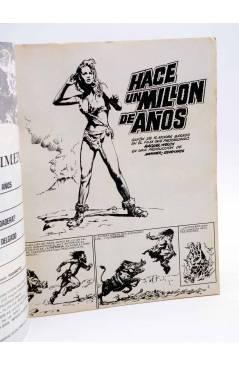 Contracubierta de DOSSIER NEGRO 201. HACE UN MILLÓN DE AÑOS (Vvaa) Giesa 1986
