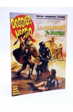 Cubierta de DOSSIER NEGRO 202. LA MALDICIÓN YO VAMPIRO (Vvaa) Zinco 1987