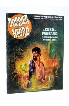 Cubierta de DOSSIER NEGRO 209. LA COSA DEL PANTANO. ALAN MOORE (Vvaa) Zinco 1987