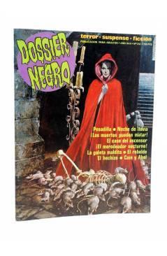 Cubierta de DOSSIER NEGRO 216. NEAL ADAMS BERNI WRIGHTSON (Vvaa) Zinco 1988