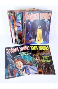 Cubierta de DOSSIER NEGRO. LOTE DE 13 (Vvaa) Zinco / Giesa 1983. VER LISTA